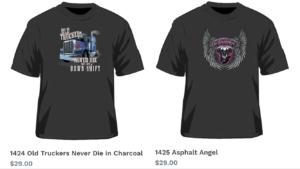 Trucker T Shirts